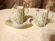 две кофейные чашечки японского фарфора 19в